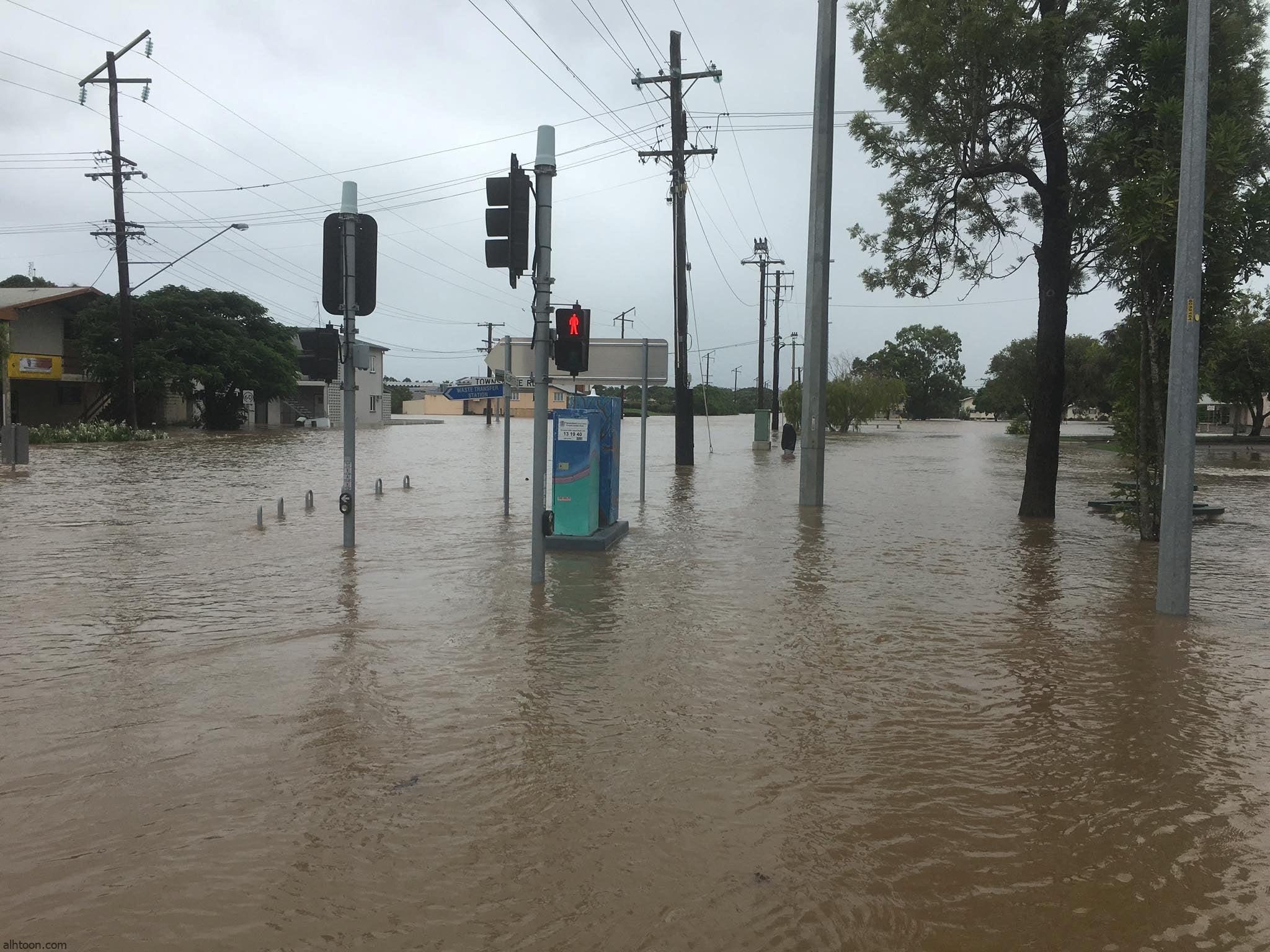 شاهد: فيضانات تغرق مدن نيوزيلندا - صحيفة هتون الدولية