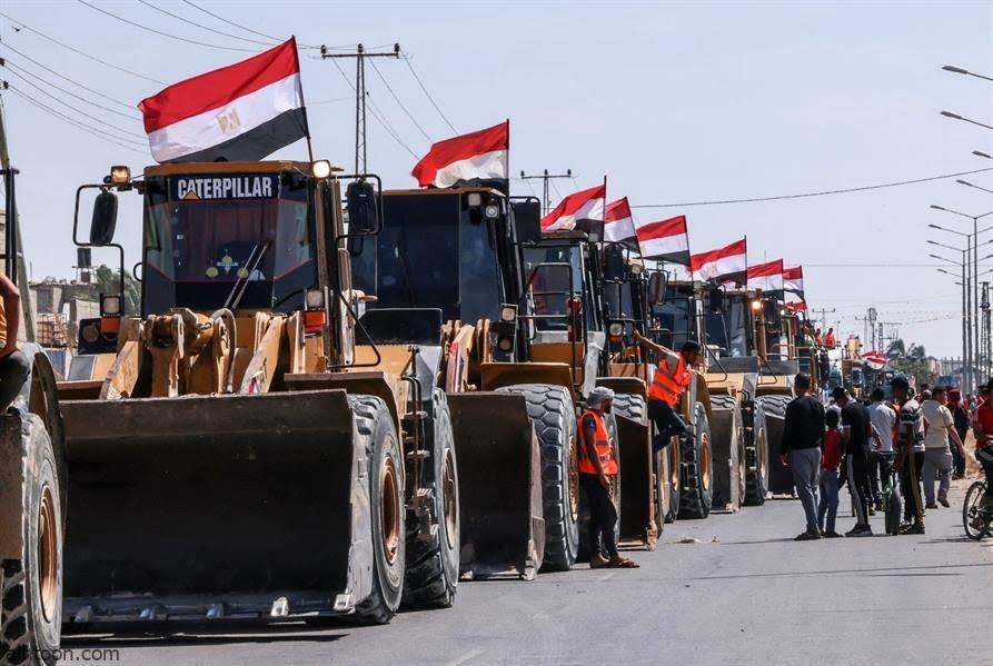"""شاهد: معدات تدخل لـ""""قطاع غزة"""" - صحيفة هتون الدولية"""