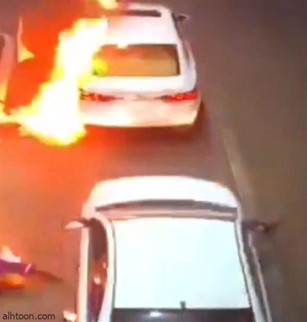 """شاهد: كارثة في بنزينة بـ""""عنيزة"""" - صحيفة هتون الدولية"""