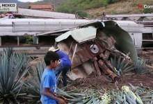 شاهد: خروج قطار من مساره بالمكسيك - صحيفة هتون الدولية