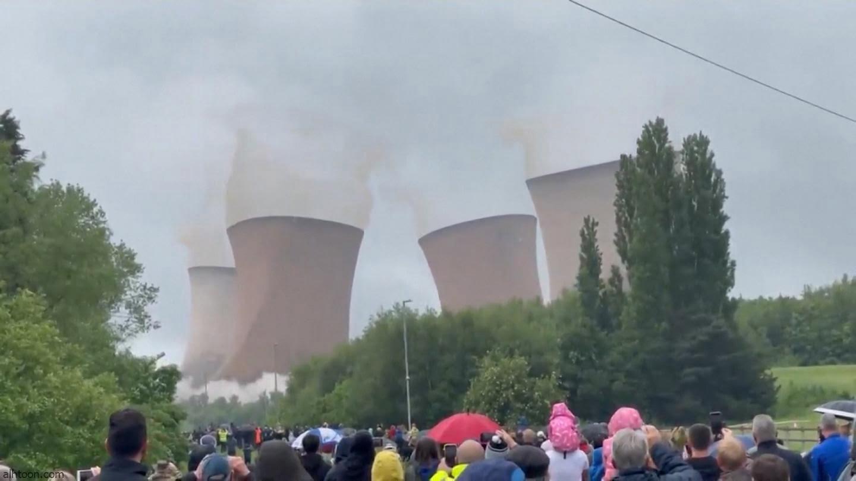 فيديو: تفجير أبراج كهرباء ببريطانيا - صحيفة هتون الدولية