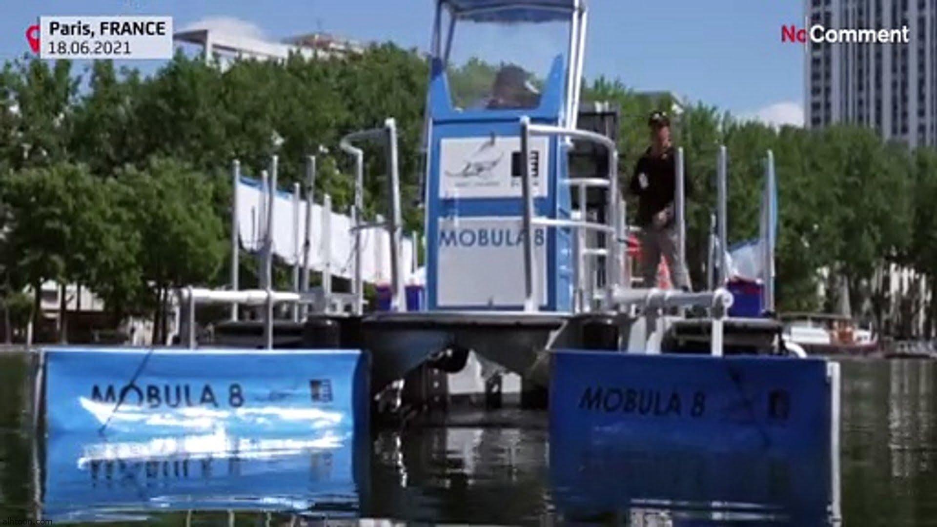 شاهد: مركب لإزالة النفايات من الأنهار - صحيفة هتون الدولية