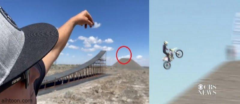 شاهد: قفزة بهلوانية تنهي حياة قائد دراجة - صحيفة هتون الدولية