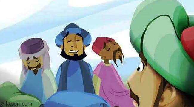 قصة ( البدوي وبعيره الضائع )