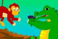 قصة ( التمساح الأحمق )