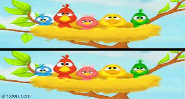 لعبة الفرق بين الصورتين للاطفال -صحيفة هتون الدولية