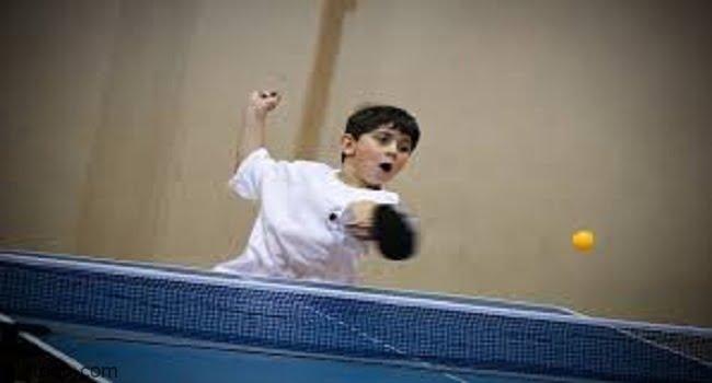 رياضة تنس الطاولة للأطفال -صحيفة هتون الدولية