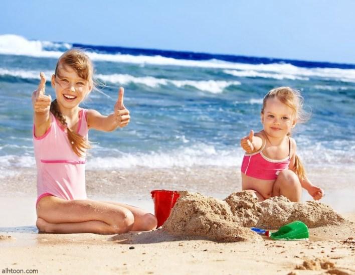 انشطة للطفل من الشاطئ بالصور - صحيفة هتون الدولية