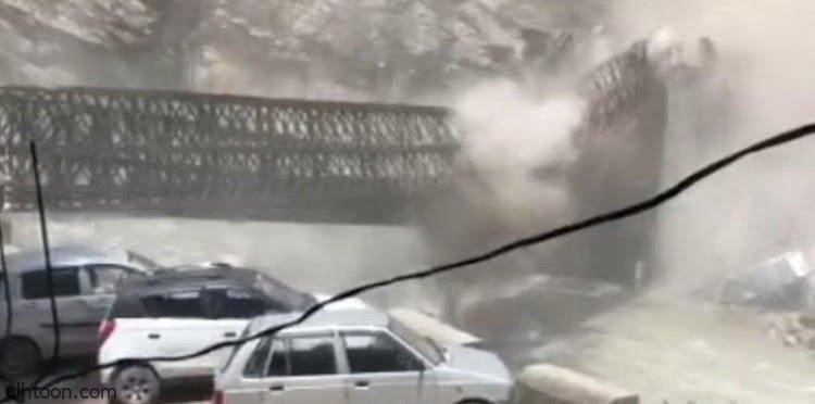 شاهد: انهيار صخري مدمر بالهند - صحيفة هتون الدولية