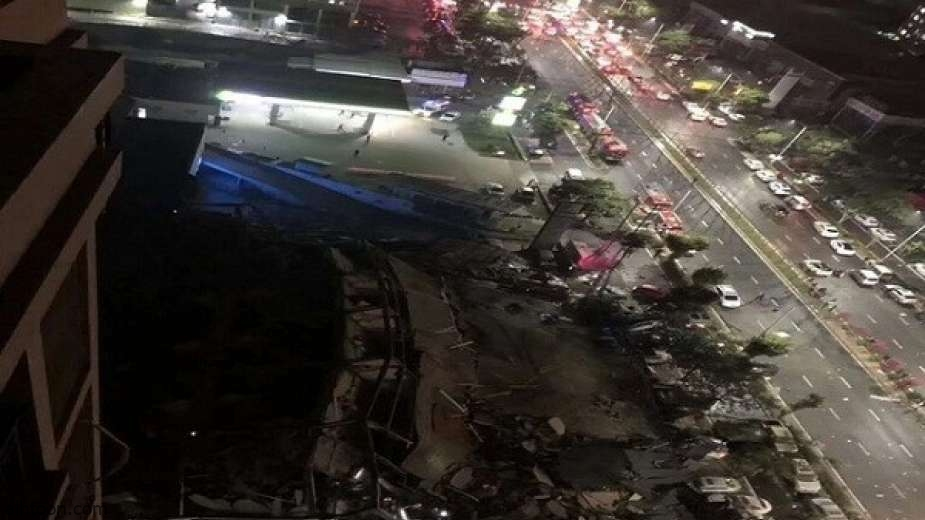 شاهد: انهيار فندق في الصين - صحيفة هتون الدولية
