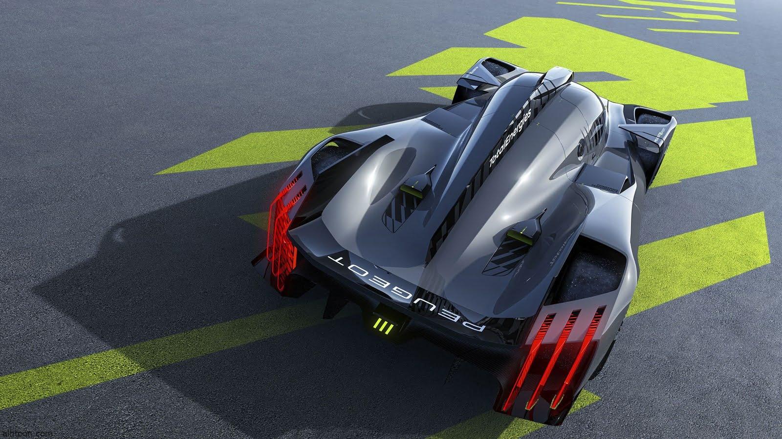 سيارة سباق خارقة من بيجو - صحيفة هتون الدولية