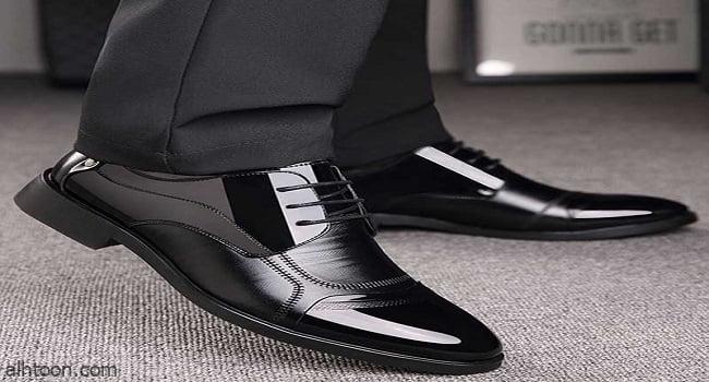 أحذية رسمية من الجلد للرجال