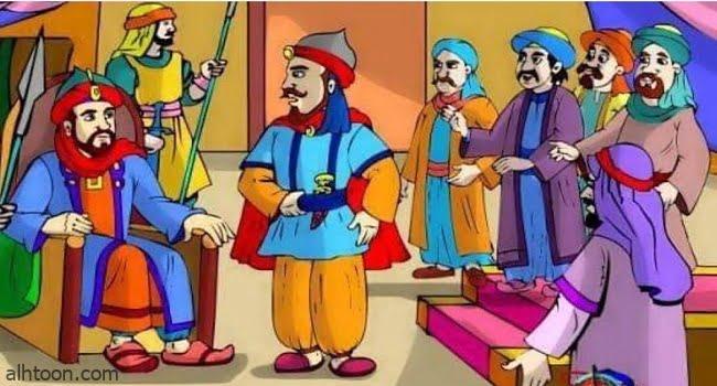قصة ( الملك والشيخ المسن )