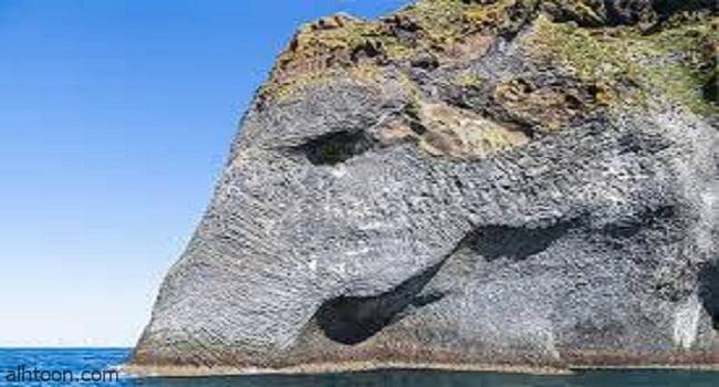 """صخرة """"الفيل"""" ..خرطوم عملاق على قمة بركان -صحيفة هتون الدولية"""