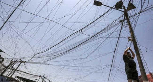شاهد: تعليق مظلة في خطوط الكهرباء أثناء الهبوط - صحيفة هتون الدولية
