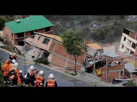 شاهد: الأرض تبتلع منزل في الصين - صحيفة هتون الدولية