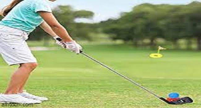 ممارسة رياضة الجولف للاطفال -صحيفة هتون الدولية
