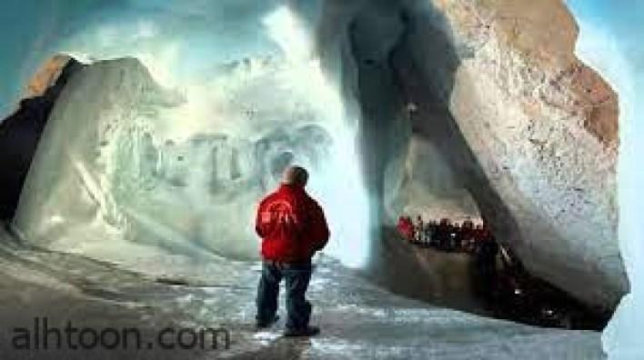شاهد أكبر كهف جليدي في النمسا -صحيفة هتون الدولية