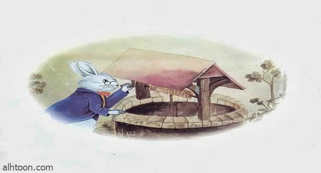 قصة ( الأرانب وبئر الماء )