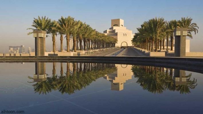 متحف الفن الإسلامي في الدوحة تحفة معمارية رائعة بتصميم فريد -صحيفة هتون الدولية