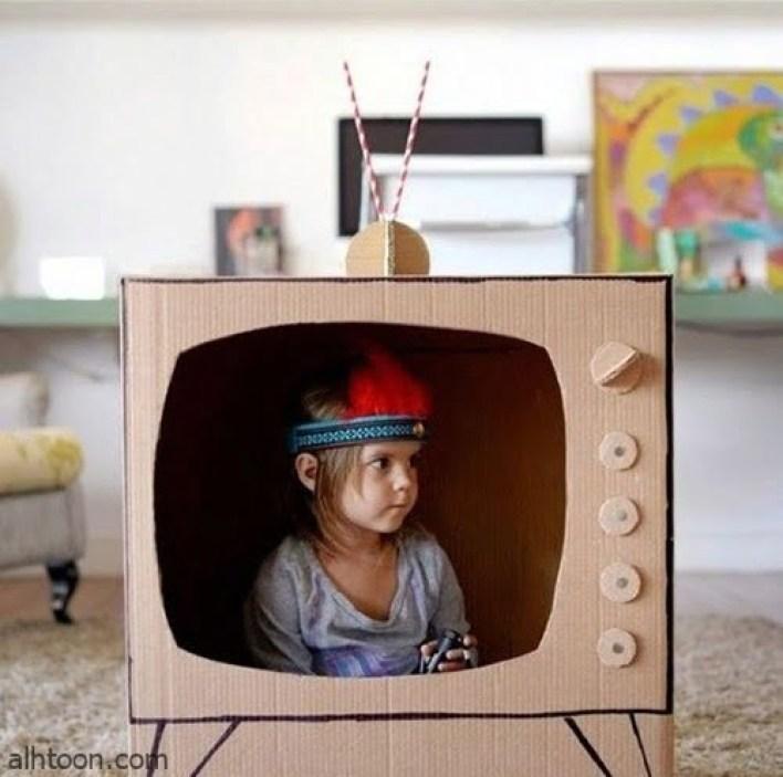 صنع العاب من الكرتون للاطفال -صحيفة هتون الدولية-