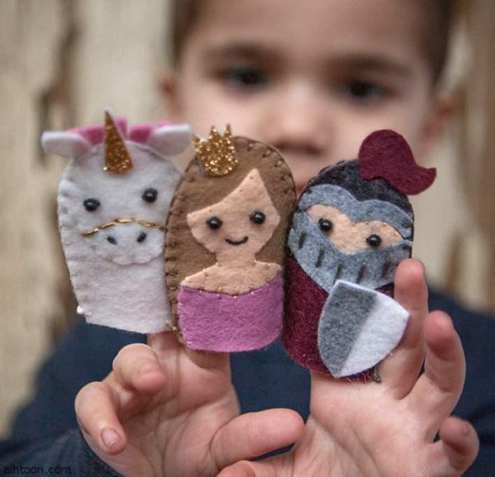 صنع عرائس الأصابع للأطفال  -صحيفة هتون الدولية
