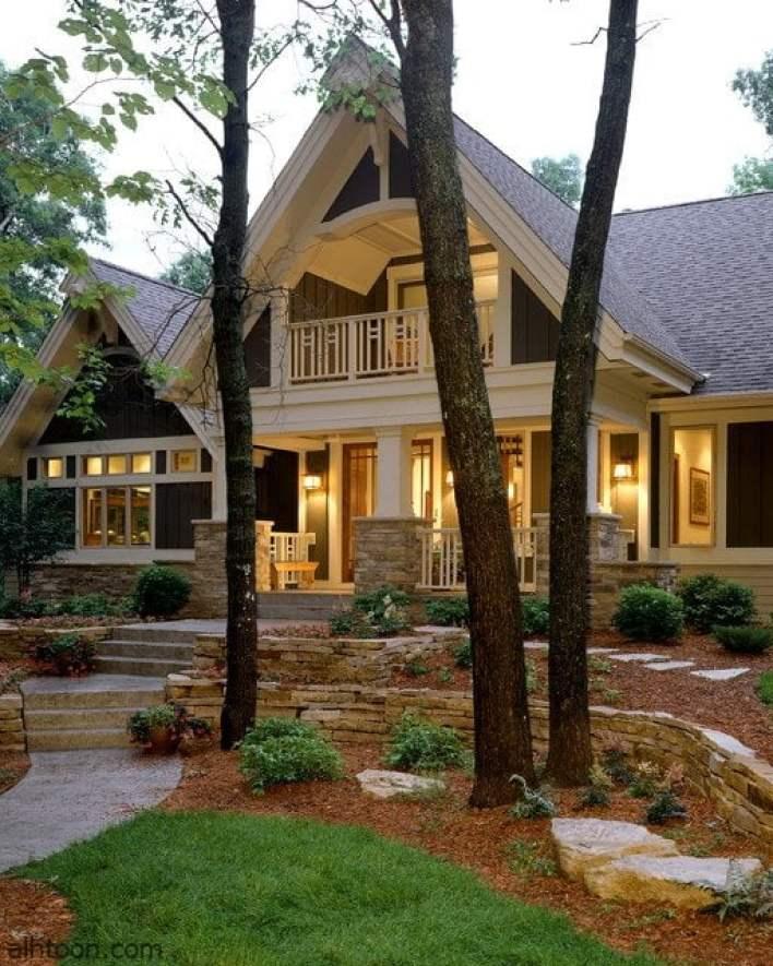 أفضل تصميم لمنازل فاخرة -صحيفة هتون الدولية