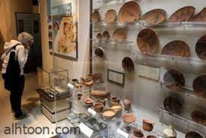 متحف اﻵثار بعمان .. لوحة فنية تمثل ملتقى الحضارات  -صحيفة هتون الدولية