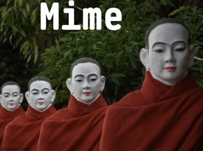 المايم   فن التمثيل الصامت