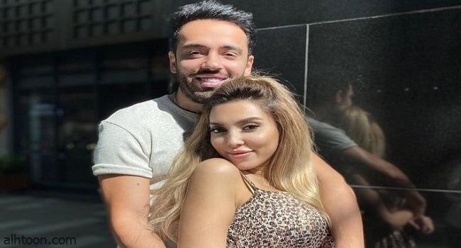 رامي جمال يغازل زوجته في عيد ميلادها
