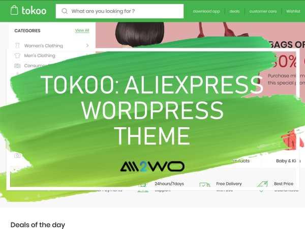 TOKOO-ALIEXPRESS-WORDPRESS-THEME-FOR-DROP-SHIPPING-SITES