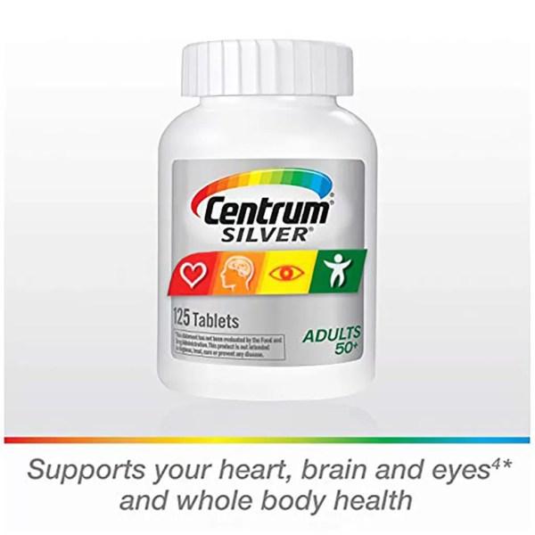 Centrum Silver Adult Multivitamin - Multimineral Supplement 80 Tablet