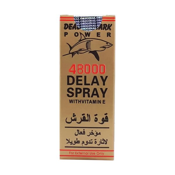 Deadly Shark Power 48000 Delay Spray with Vitamin E 40ML