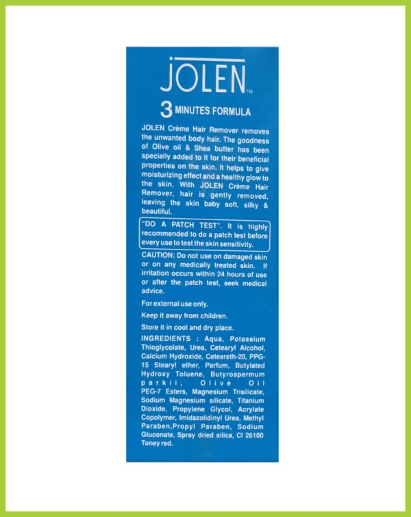 Jolen Hair Remover Cream For ALL TYPES OF Skin (INDIA) Original