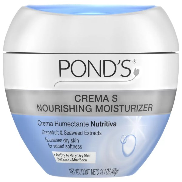 Pond's Crema S Nourishing Moisturizing Cream For Very Dry Skin 400g