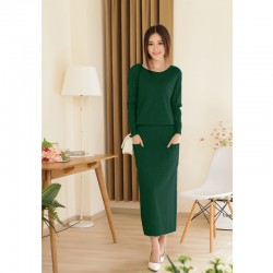 2014-new-spring-and-autumn-female-round-neck-floor-length-cashmere-sweater-one-piece-dress-casual1