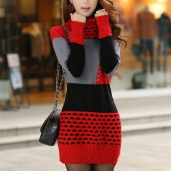 Woman-Winter-Dress-2015-Knitted-Dress-Turtleneck-Long-Sleeve-Women-Sweater-Dress-Sweaters-and-Pullovers-Plus1
