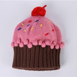 1pcs-2016-Free-Shipping-Winter-kids-hat-Lovely-cupcakes-modelling-children-embroidery-cake-ice-cream-hat-1