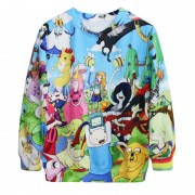 B5042-Alisister-Harajuku-Women-Adventure-Time-Sweatshirt-3D-Print-Cartoon-Biscuit-Men-Hoodies-Pullovers-Autumn-Winter-3