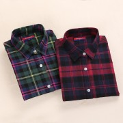 Flannel-Winter-Plaid-Shirt-Women-Tops-Turn-down-Collar-Women-Shirts-Long-Sleeve-Plus-Size-Blusas-2