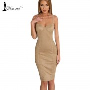 Free-shipping-2016-suede-Bra-sexy-sleeveless-split-dress-party-dress-FT2544-4