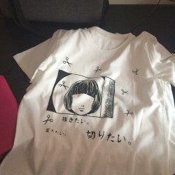 Harajuku-T-Shirt-Japanese-Cut-Hair-Girl-Free-shipping-1