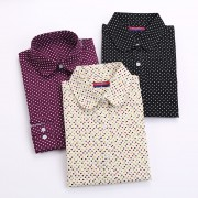 New-Brand-Long-Sleeve-Women-Shirts-Polka-Dot-Blusas-Femininas-Cotton-Floral-Print-Women-Blouses-Casual-2
