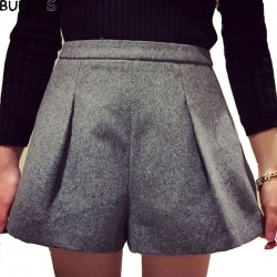 Women-Winter-Shorts-Vintage-A-line-Casual-Woolen-Shorts-Loose-Boots-High-Waisted-Winter-Shorts-Plus-1