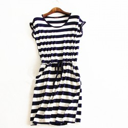 2016-new-style-summer-dress-Casual-Stripe-women-summer-dress-sleeveless-dresses-solid-color-cheap-clothes-1