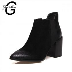 Retail-Wholesale-Knight-Short-Boot-Shoes-Women-Lady-Fashion-Nubuck-Leather-Thick-Heel-Ankle-Boots-Women-1