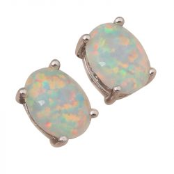 White-Fire-Opal-Silver-Stamped-Wholesale-Retail-Silver-Stud-Earrings-for-women-Fashionl-Jewelry-Opal-Jewelry-1