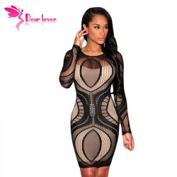 BlackFriday-5-Color-2015-Vestido-de-festa-Women-Royal-Blue-Lace-Nude-Illusion-Long-Sleeve-Bodycon-1