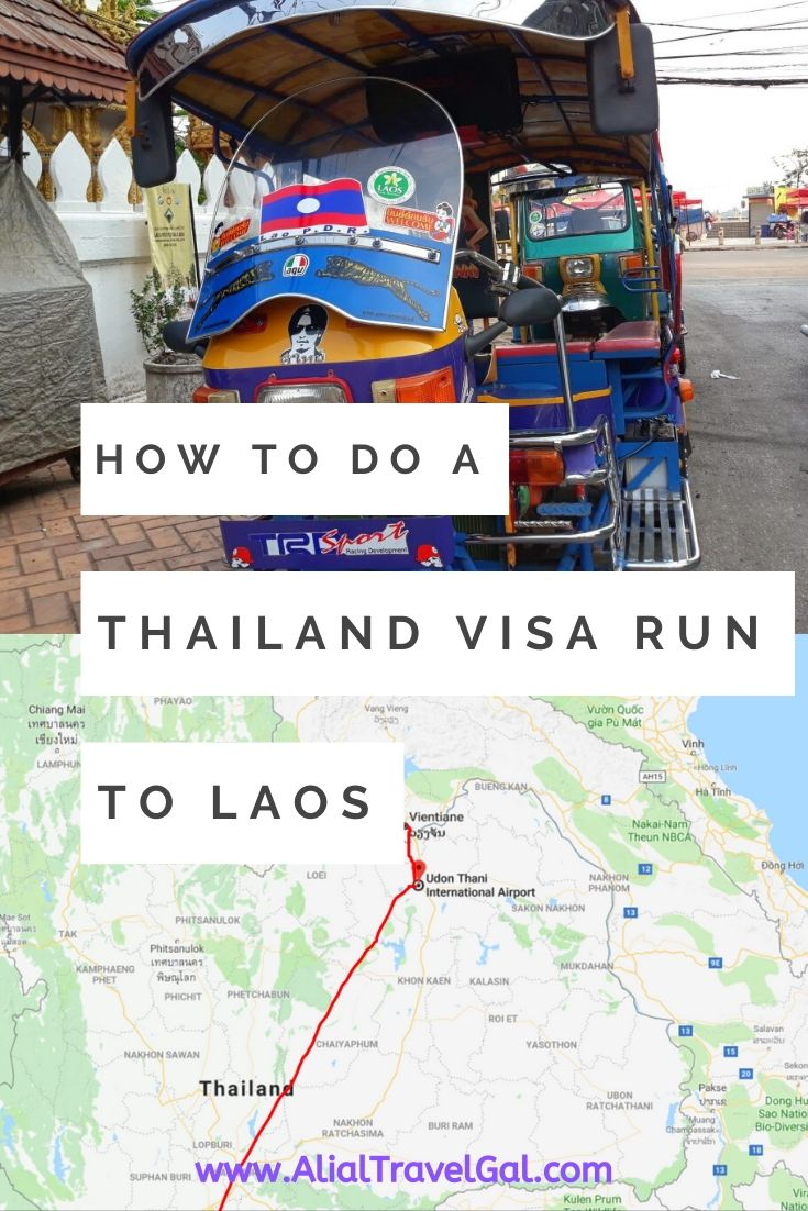 Step by Step Guide to How to do a Thailand Visa Run To Laos