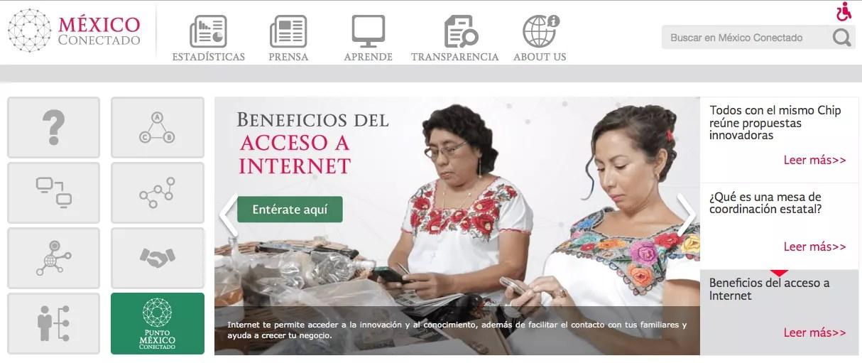 """El proyecto de capacitación TIC """"México Conectado"""" llega a más de 183 mil usuarios"""